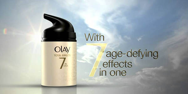 cremas antiarrugas olay total effects a precio brutal
