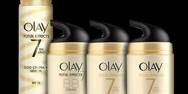 cremas faciales hidratantes piel sensible olay total effects
