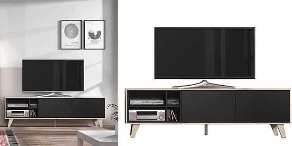 funcional mueble para television y salon con puertas barato