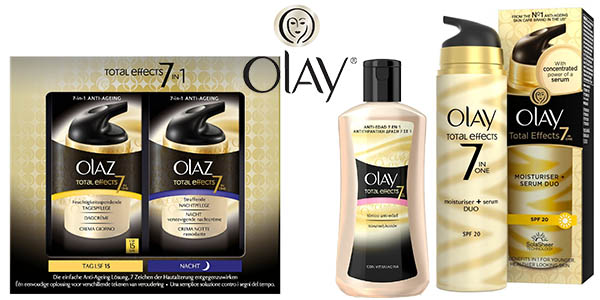 Olay total effects cremas baratas