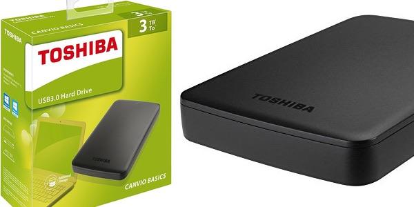 Toshiba Canvio Basics 3TB al mejor precio
