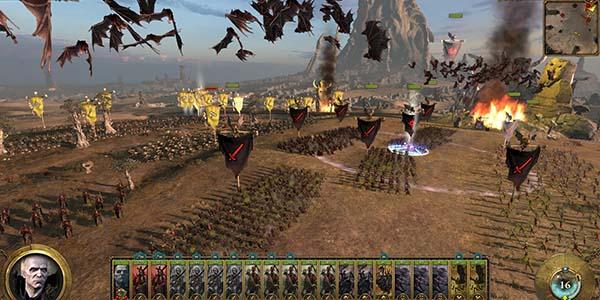 Gameplay Warhammer: Total War