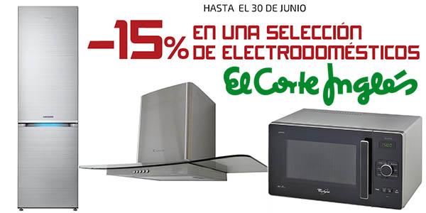c1c6d03602b5 15% en grandes electrodomésticos en El Corte Inglés (junio 2016)