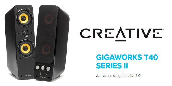 Altavoces Creative Labs Gigaworks t40 series II