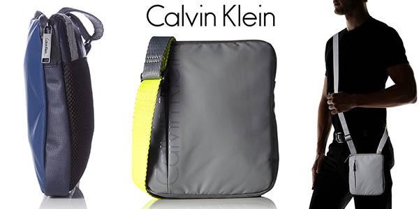 calvin klein logan mini flat crossover bolso pre,rebajas amazon verano 2016