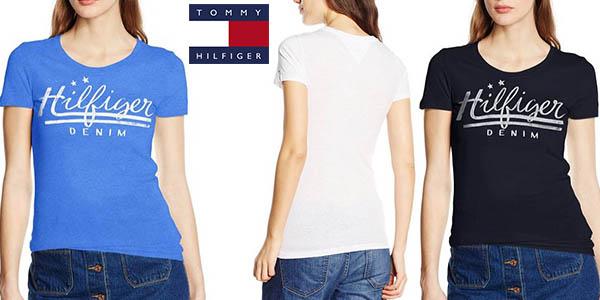 d8303cb62a7 camiseta tommy hilfiger denim basic cotton algodon para mujer barata