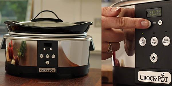crock-pot robot olla para cocina lenta a precio brutal