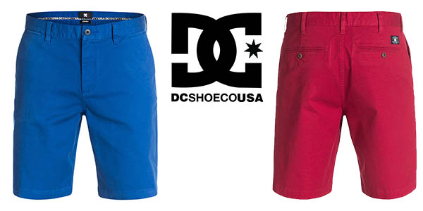 dc shoes worker straight 20,5 shorts para hombre barato