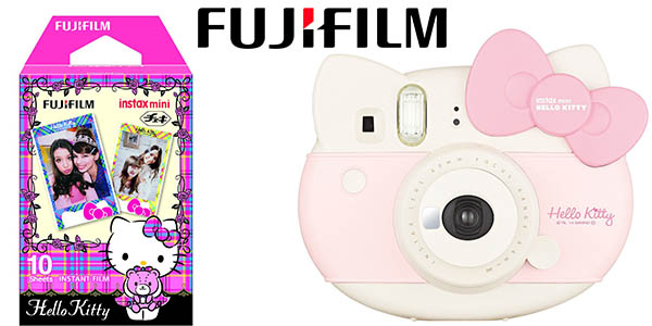 3c0e5ecd90 fujifilm instax mini hello kitty camara de fotos instantanea oferta flash  amazon 14 junio 2016