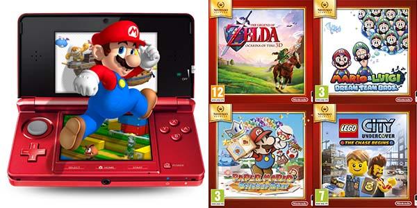 Promocion Juegos De Nintendo 3ds Por 15 90 En Amazon