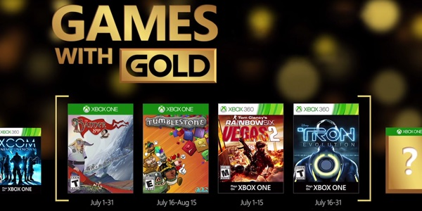 Juegos gratis con Gold julio 2016