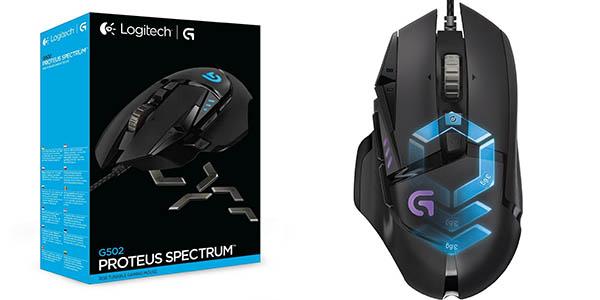 Logitech G502 Proteus Spectrum RGB barato
