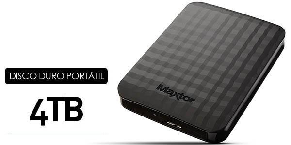 Disco duro Maxtor STSHX M401TCBM de 4TB