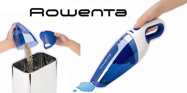 rowenta extenso wet & dry aspirador de mano barato y potente de 4,8V