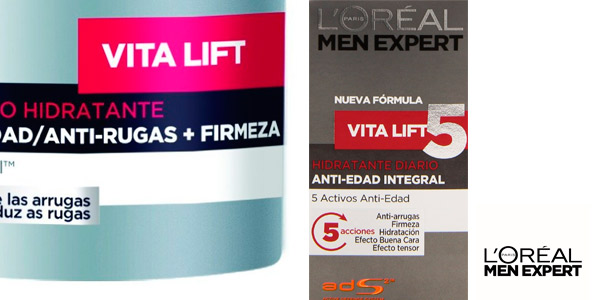 Crema hidratante vita- lift men expert amazon