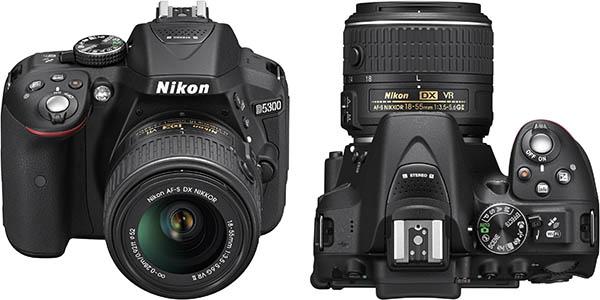 Cámara Nikon D5300 barata