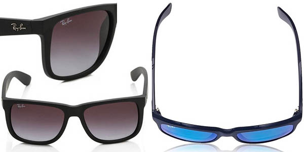 gafas ray ban wayfarer cristal azul