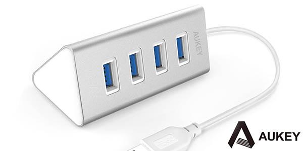 Hub AUKEY 4 Puertos USB 3.0