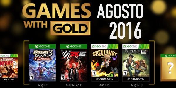 Juegos Gratis Con Gold De Agosto 2016 Para Xbox