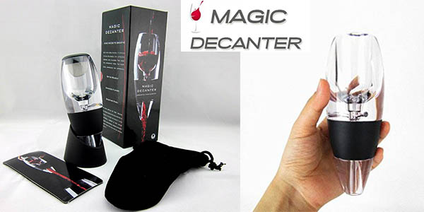 magic decanter decantador-aireador de vino barato
