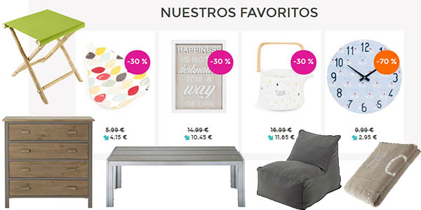 Muebles a precios locos en las rebajas de maisons du monde for Rebajas mobiliario jardin