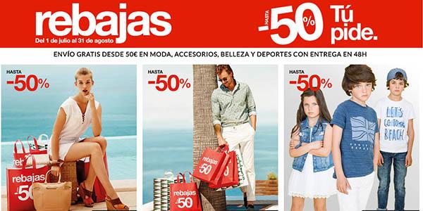 Rebajas 2016 en Moda de El Corte Inglés con ropa al -50% 0dcbbd36ef9