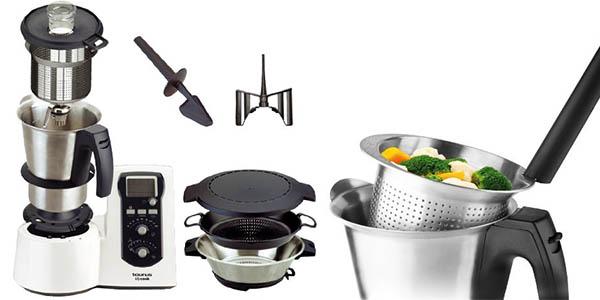Robot De Cocina Taurus Mycook Precio | Chollo Black Robot De Cocina Taurus Mycook 923001 Por Solo 349
