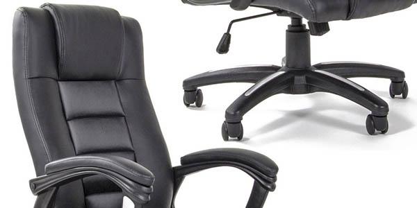 silla acolchada ruedas oficina barata