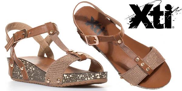 xti-rita-zapatos media cuña color camel baratos