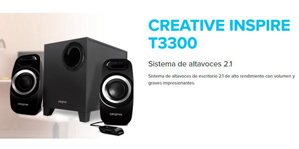Altavoces Creative T3300 oferta