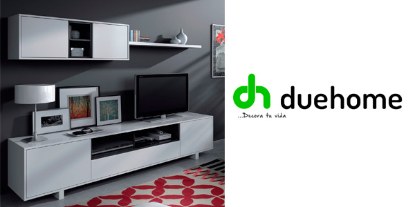 Mueble completo TV Belus Duehome