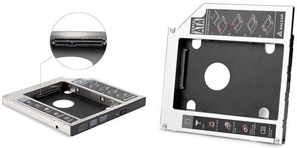 Adaptador HDD para portátil con lector DVD