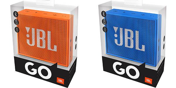 Altavoz JBL Go azul o naranja