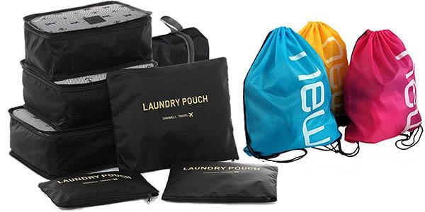 bolsas de organización para equipaje de mano a precio de chollo