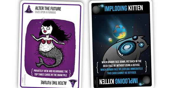 Imploding Kittens: Primera expansión del juego de cartas ...