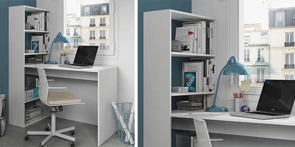 Funcional escritorio con estantera DueHome por slo 79 con envo