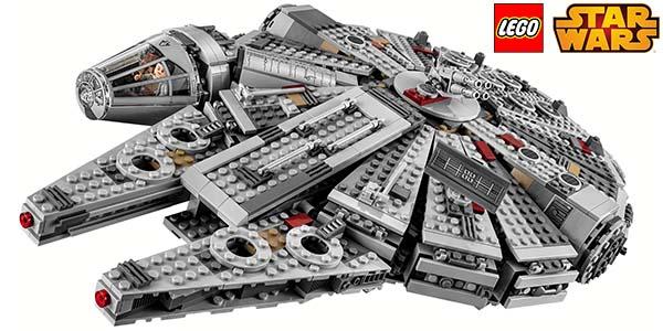 chollo halc n milenario de lego star wars por s lo 109 95. Black Bedroom Furniture Sets. Home Design Ideas