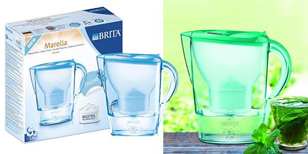 Chollo jarra brita marella con filtro de agua de 2 4 - Agua sin cal ...