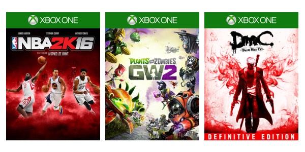 Ofertas con Gold para Xbox One y Xbox 360 de 09-08-2016