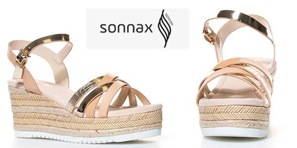 sonnax zapatos cuña 8 cm baratos