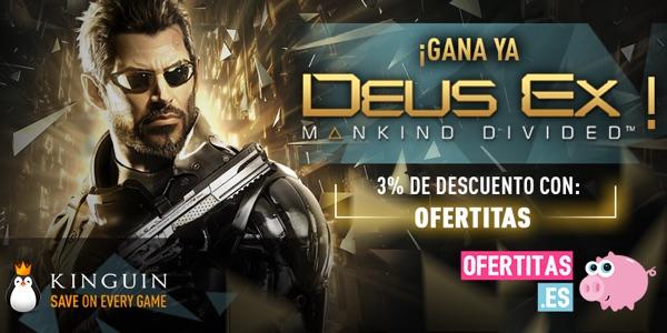 Sorteo Deus Ex Mankind Divided