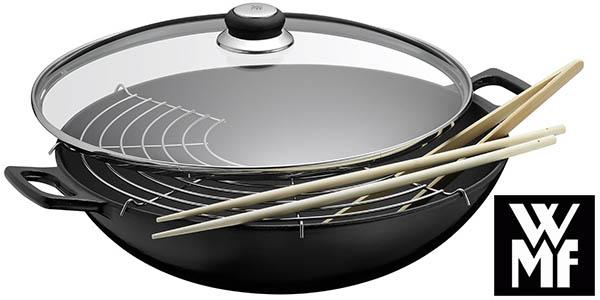 Chollo wok wmf de hierro fundido con un 40 de descuento for Precio del hierro hoy