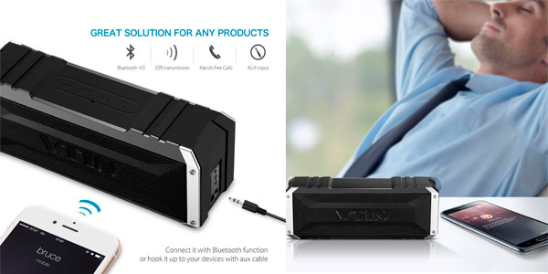altavoz bluetooth vtsing dual driver amazon
