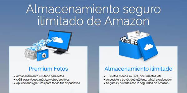 Amazon Drive ilimitado