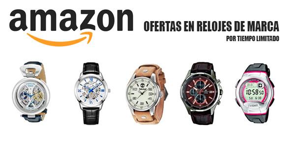 amazon relojes de marca en oferta