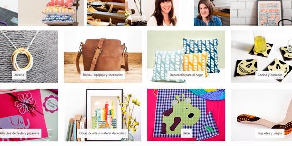 Comprar artesania online a través de Amazon