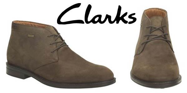 gran venta d04f1 e2c31 Botas Clarks Chilver Hi GTX con cupón descuento en Amazon