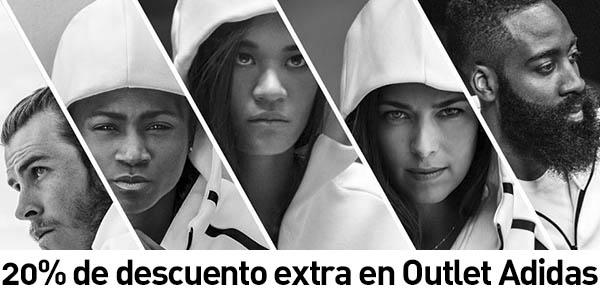 20% descuento extra Adidas Outlet