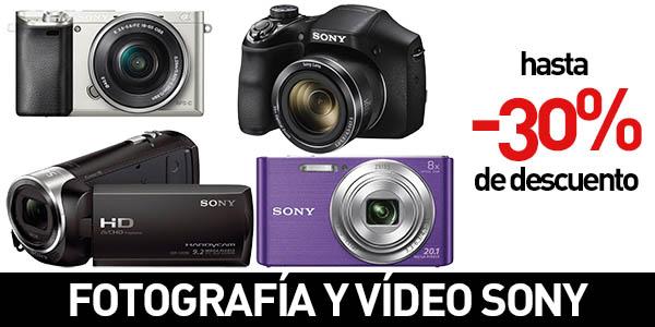 Fotografía y vídeo Sony con descuento