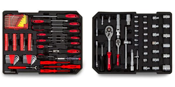 Maleta con 416 herramientas para bricolaje Greencut